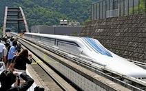 Nhật chạy thử tàu điện siêu tốc trên đệm từ trường