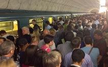 Cháy trạm tàu điện ngầm ở Nga, hàng ngàn người phải sơ tán