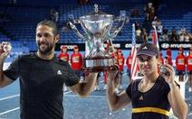 Djokovic không thể đăng quang Hopman Cup