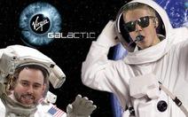 Justin Bieber thám hiểm vũ trụ