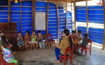 Ngôi trường nghèo ở Quảng Ngãi