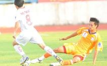 Đấu bù vòng 14 V-League 2012: Thua là đứt