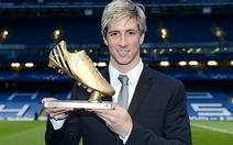 Torres nhận Chiếc giày vàng