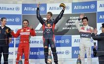 Vettel giành chiến thắng quan trọng ở Nhật Bản