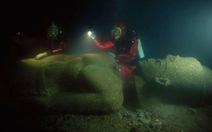 Hé lộ huyền thoại thành phố dưới nước của Ai Cập