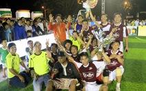 Đội Thành Dung Krông Pắk vô địch ở Đắk Lắk