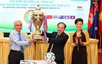 Giải bóng đá công an, cảnh sát các nước Asean trở lại
