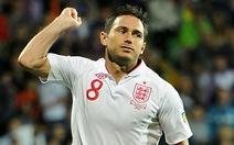 Anh: Lampard vắng mặt, Rooney đeo băng thủ quân
