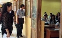 Kỷ luật giám thị để học sinh quay cóp khi thi