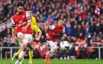Thắng nghẹt thở Norwich, Arsenal vươn lên vị trí thứ 3
