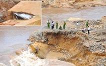 Đập thủy điện Ia Krêl vỡ: loại trừ nguyên nhân tích nước