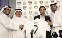 """Raul Gonzalez sang Qatar """"dưỡng già"""""""
