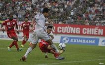 Vòng 5 V-League 2013: SLNA lấy lại ngôi đầu