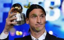 Ibrahimovic lần thứ 7 đoạt Quả bóng vàng Thụy Điển