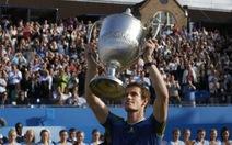 Murray lần thứ ba thắng giải Queen Club