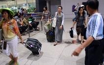 701 du khách Việt bị giam lỏng ở Thái Lan