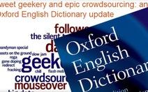 """Từ điển Oxford phải tự phá """"luật riêng"""""""