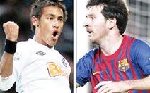 """""""Pele mới"""" gặp """"Maradona mới"""""""