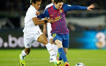 Messi tỏa sáng giúp Barcelona đoạt cúp