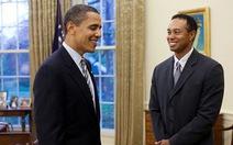 Tổng thống Mỹ chơi golf với Tiger Woods