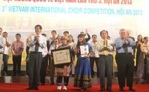 Hợp xướng Quốc tế: chủ nhà VN đoạt 2 giải