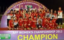 Thắng Myanmar, Việt Nam đăng quang bóng đá nữ