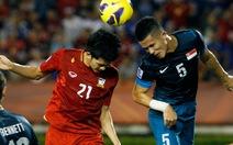 Nguyễn Thị Thúy thắng cược trận Thái Lan - Singapore 1-0