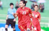 Tuyển nữ Việt Nam đại thắng Bahrain 8-0