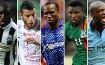 BBC đề cử 5 cầu thủ xuất sắc nhất châu Phi