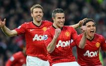 Danh hiệu thứ 13 của HLV Alex Ferguson