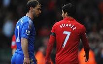 Cắn Ivanovic, Suarez bị cấm 10 trận