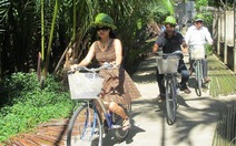 Đạp xe khám phá đất dừa Cẩm Thanh