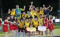 Đội Anna FC vô địch TP.HCM