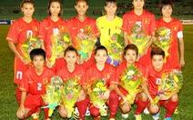 AFF vinh danh bóng đá nữ Việt Nam