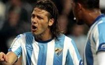 Malaga đại thắng Real Zaragoza
