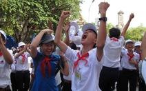 """Học trò Khánh Hòa """"miễn"""" thi lớp 10: vui và lo"""