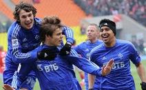 Tiền vệ Kokorin xuất sắc nhất nước Nga năm 2012