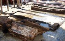 Bí ẩn tàu 700 năm chứa 286 thùng hiện vật ở Quảng Ngãi