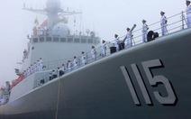 Hải đội Trung Quốc tập trận quy mô lớn với Nga