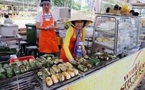 Chuối nếp nướng Việt Nam ra thế giới