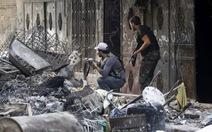 Mỹ bác cáo buộc quân nổi dậy Syria dùng vũ khí hóa học