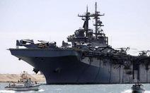 Tàu chiến Mỹ tiến sát bờ biển Ai Cập