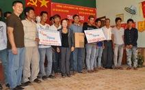 Hỗ trợ ngư dân đánh bắt ở Hoàng Sa - Trường Sa