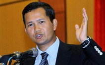 Con trai Thủ tướng Hun Sen được thăng hàm tướng