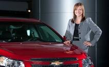"""""""Bóng hồng"""" hiếm hoi của ngành ôtô Mỹ"""
