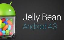 Smartphone nào có thể nâng cấp Android 4.3?
