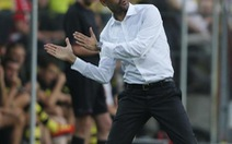 HLV Guardiola bình thản sau thất bại trước Dortmund