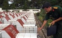 Dời mộ liệt sĩ mất hàng trăm hồ sơ, tìm lại tên anh
