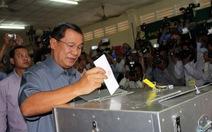 Bầu quốc hội khóa 5 ở Campuchia: Đảng CPP chiến thắng