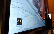 Tivi 4K cao cấp đổ bộ thị trường Việt Nam